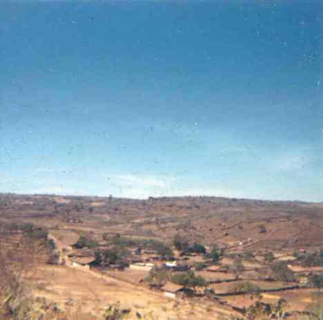 Más cargado a Los Guanumos, al fondo, zona depoblada rumbo al Chorro