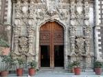 Ciudad de México. Templo de San Francisco, calle Madero. De la red