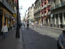 Ciudad de México, calle Madero. De la red