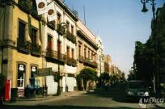 Ciudad de México, calle Tacuba, c. De la red