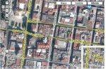 Ciudad de México. Calles Bolívar y Madero. De la red