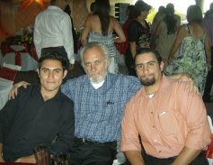 Emmanuel, Silviano, Miguel. La Piedad. Foto de Carmelita