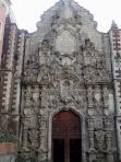 En Ciudad de México, calle Madero, templo de San Francisco