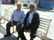 Tavo Mejía y Toño Madrigal. Foto de Silviano