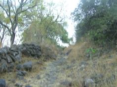 Ziquítaro, calles y paisajes, 46. Mañanita del día 12 de enero, hacia La Bolsa, barrio desaparecido