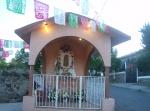 """Capillita de san Isidro, entre Los Nopales Altos y """"La Viscosa"""", este último barrio relativamente nuevo"""
