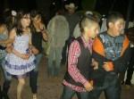 En la plaza, durante la serenata, el día 12 de enero 012 en Ziquítaro